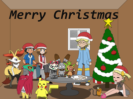 Christmas Time Together by PokemonXYLover1998