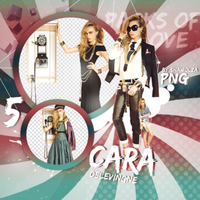 PNG Pack (13) Cara Delevingne by Shawolza