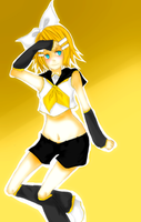 kagamine rin by Count-L