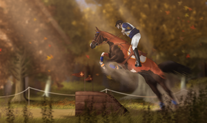 Autumn Event - Cross-Country by FeatherCandy