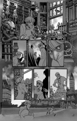 Gotham academy special page01 by moritat