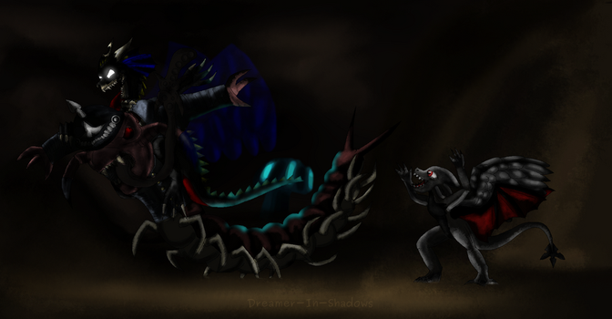 AT: Centiride by Dreamer-In-Shadows