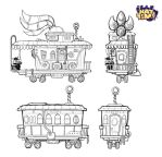 Train End and Cabin Concepts by LuigiL