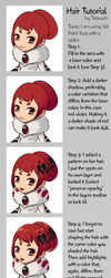 Hair Coloring Tutorial by Tataouin