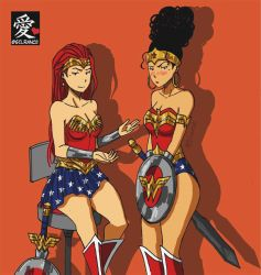 Wonder Woman - Victoria and Maria by silrance
