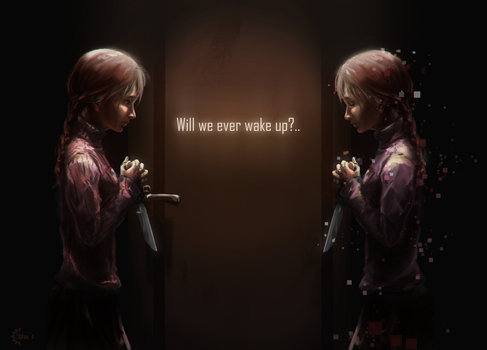 [Yume Nikki] Will we ever wake up?.. by ProtoRC