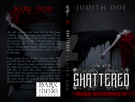 Dark Destinies Series - 2nd of 3 Cover Set
