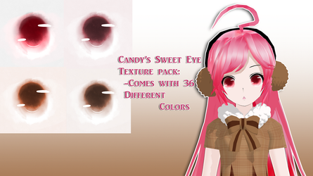 .:Candy's Sweet Eye Texture Pack:. [Download] by CinnamonBunBunny