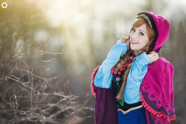 Princess Anna from Disney Frozen by Fiore di Luna by Fiore-di-Luna