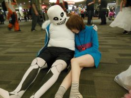 Undertale Sans Cosplay (Hey kiddo, you tired?) by TheBeastInBeauty