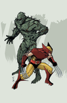 Wolverine and Swamp Thing by Hodges-Art