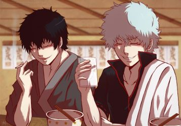 Gintama - The Demon Vice Chief and Mr. Odd Jobs by 7Repose