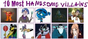 10 Most Handsome Villains by Toongirl18