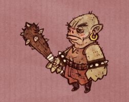 Tiny Troll by Adrian-Bloch