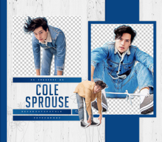 PACK PNG 58 // COLE SPROUSE by fetishpngs