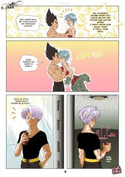 Fresh 04 - vegexbulma fancomic by nenee