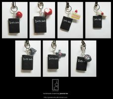 Death Note Charms by junosama