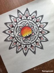 Mandala #2 by thedragoncastle