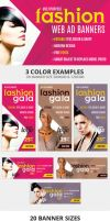Fashion Gala Web Ad Banners - Multipurpose by webduckdesign