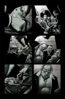 hellblazer 260 page 15 colours by gammahed