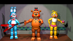 Fnaf 2 Showstage by Bantranic