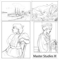 Master Studies: Even more of 'em edition. by AmmoBot-HB