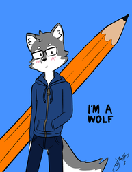 I'm A Wolf by jmtacda