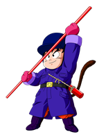 Kid Goku Snow Outfit by BoScha196