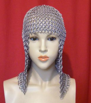 Chainmaille Coif without Mantle by DesignsByDes