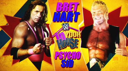 WWE In Your House Custom Match Card by LstarEditions
