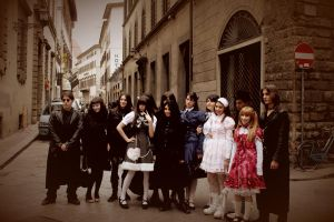Gothic Lolita Meeting by NocturneGothicLolita