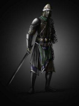 Mongol Warrior Concept 2 by Robjenx