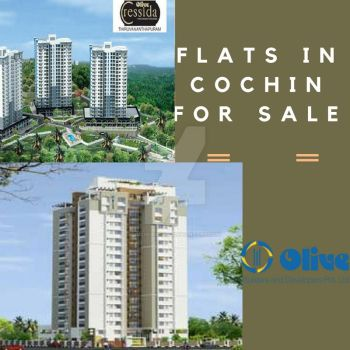 Flats in Cochin for sale   Apartments in Kochi by olivebuilder