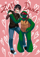 Let's dance - Casey and Raphie, more bromance! by AT-Studio