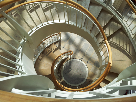Staircase Spiral by MarinoOfFive