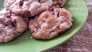 How to Make Almond Joy Cookies by JenniBeeMine