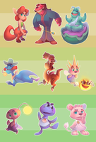 Spyrober DAY 1-10 by Sony-Shock