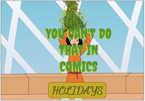 Coming Soon: You Can't Do That In Comics Holidays by KelseyRosesRed