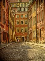alley in the old town by HeretyczkaA