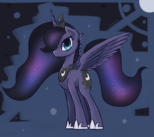Princess Luna by eShredder
