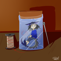 Lily In A Jar by zencat61