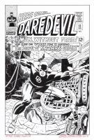 DAREDEVIL #13 Cover Recreation HAZLEWOOD - Kirby by DRHazlewood