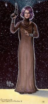 Vice Admiral Holdo by Phraggle