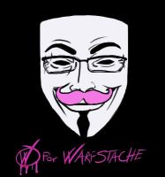W For Warfstache by NatBat23