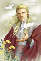 Glorfindel by ilxwing