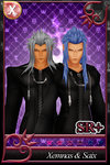 {Request} [KHX Card] - Xemnas and Saix by SnowEmbrace