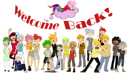 Welcome Back by PinkSugarSweetness