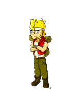 Metal Slug project: Marco by JoTheWeirdo