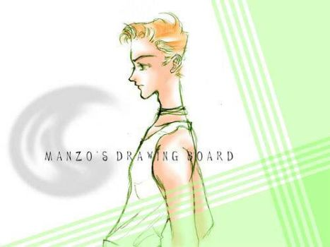 Old CG 13 Boy by manzo