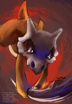 Cubone by Siplick